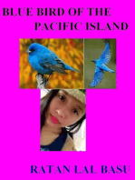 Blue Bird of the Pacific Island