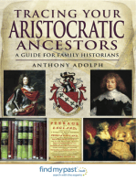 Tracing Your Aristocratic Ancestors