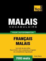 Vocabulaire Français-Malais pour l'autoformation. 7000 mots