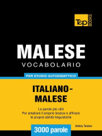Vocabolario Italiano-Malese per studio autodidattico