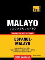 Vocabulario Español-Malayo