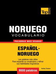 Vocabulario Español-Noruego: 9000 palabras más usadas
