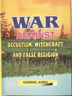 War Against Occultism, Witchcraft and False Religion
