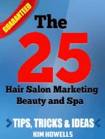 Salon Marketing The 25 Hair Salon Marketing Beauty and Spa Tips