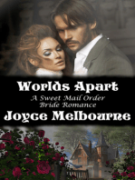 Worlds Apart (A Sweet Mail Order Bride Romance)