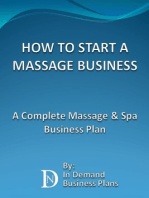 How To Start A Massage Business