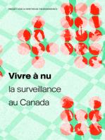 Vivre à nu: La surveillance au Canada