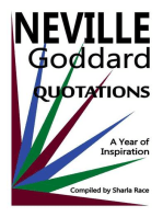 A Year of Inspiration: Neville Goddard Quotations