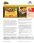 Marketing Study on Marketing Mix in The Food Industry