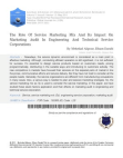 Impact on Marketing Audit In Engineering And Technical Service Corporations