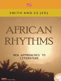 African Rythmns: New Approaches to Literature