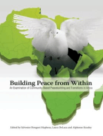 Building Peace from Within