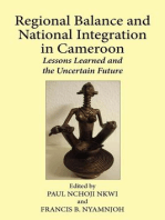 Regional Balance and National Integration in Cameroon