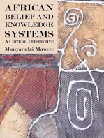 African Belief and Knowledge Systems