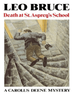 Death at St. Asprey's School
