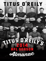 Titus O'Reily's 2014 AFL Season Almanac: A Funny Thing Happened on the Way to the AFL Premiership