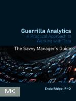 Guerrilla Analytics