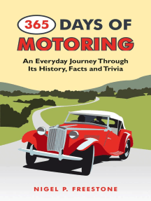 365 Days of Motoring: An Everyday Journey Through its History, Facts and Trivia