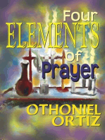 Four elements of prayer