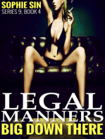 Legal Manners (Big Down There Series 9, Book 4)