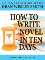 How to Write a Novel in Ten Days