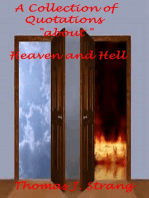 A Collection of Quotations about Heaven and Hell