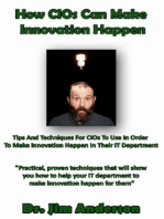 How CIOs Can Make Innovation Happen