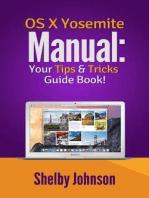 Yosemite OS X Manual