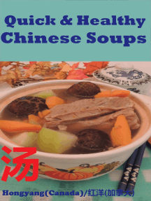 Quick and Healthy Chinese Soups: Photo Cookbook