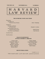 Harvard Law Review: Volume 128, Number 1 - November 2014