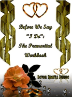 """Before We Say """"I Do"""""""