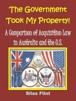 The Government Took My Property! A Comparison of Acquisition Law in Australia and the United States