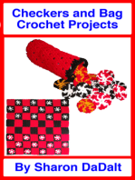 Checkers and Bag Crochet Projects