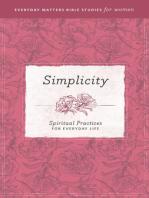 Everyday Matters Bible Studies for Women—Simplicity