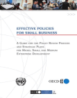 Study in Effective Policies for Small Business