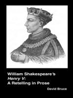 """William Shakespeare's """"Henry V"""""""