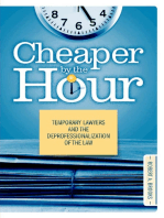 Cheaper by the Hour