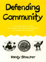Defending Community: The Struggle for Alternative Redevelopment in Cedar-Riverside