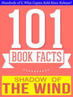 The Shadow of the Wind - 101 Amazingly True Facts You Didn't Know (101BookFacts.com)