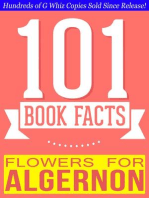 Flowers for Algernon - 101 Amazingly True Facts You Didn't Know (101BookFacts.com)