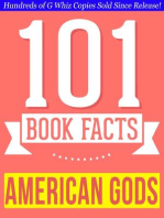 American Gods - 101 Amazingly True Facts You Didn't Know - 101 Amazingly True Facts You Didn't Know (101BookFacts.com)