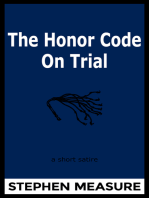 The Honor Code on Trial