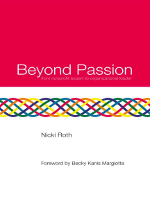 Beyond Passion: from Nonprofit Expert to Organizational Leader
