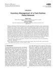 Research Report on Inventory Management of a Fast-Fashion Retail Network