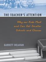 The Teacher's Attention