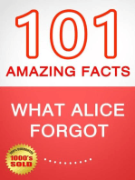 What Alice Forgot - 101 Amazing Facts You Didn't Know