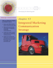Marketing Study on Integrated Marketing Communication Strategy