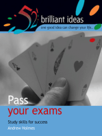 Pass your exams: Study skills for success