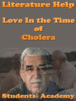 Literature Help: Love In the Time of Cholera