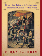 How the Idea of Religious Toleration Came to the West